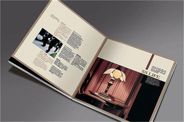彩色画册设计的元素,版式